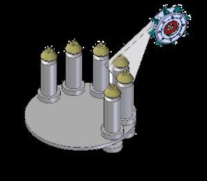 diagrama-granallado-equipo-satelite-multi-table-cym